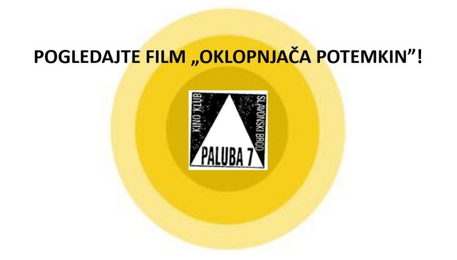 "Projekcija filma ""Oklopnjača Potemkin"""