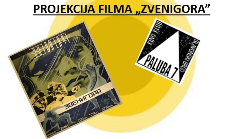 """Projekcija filma """"Zvenigora"""""""
