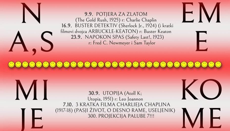 """Art kino Palube 7 – """"Tri kratka filma Charlieja Chaplina"""""""