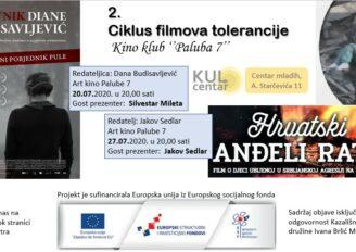 """Projekcija filma """"Hrvatski anđeli rata"""", redatelj: Jakov Sedlar"""