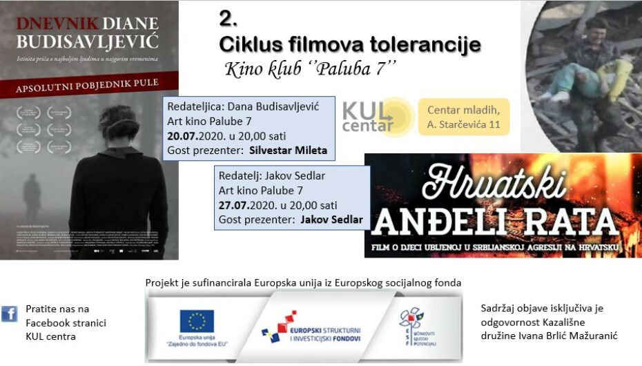 "Projekcija filma ""Dnevnik Diane Budisavljević"" (2019.)"