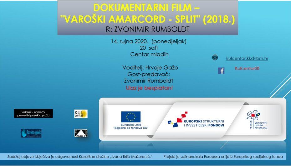 "Dokumentarni film – ""Varoški Amarcord – Split"" (2018.) R: Zvonimir Rumboldt"