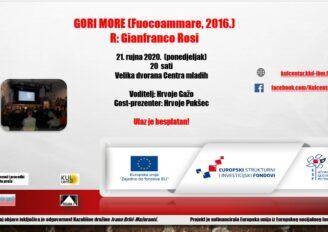 Dokumentarac GORI MORE (Fuocoammare, 2016), R: Gianfranco Rosi