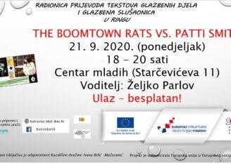 U ringu – The Boomtown Rats vs. Patti Smith