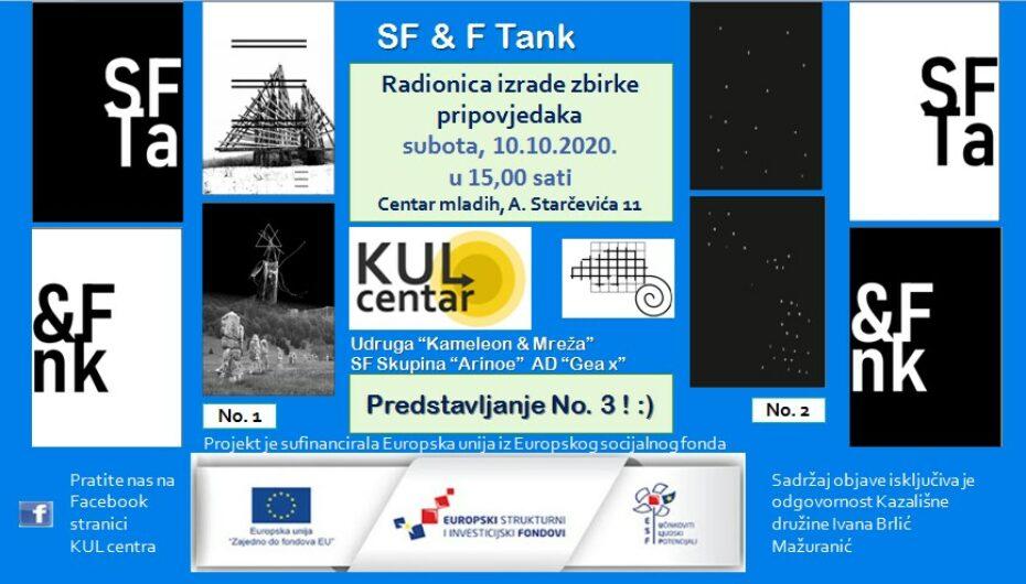Radionica – SF&F Tank – Izrada zbirke pripovjedaka